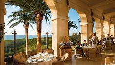 Ocean View At The Andrea Restaurant Pelican Hill Resort Newport Coast Ca