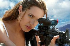 Angelina Jolie. Mr. and Mrs. Smith