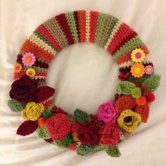 Attic24 inspired Autumn wreath