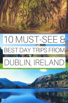 10 Best Day Trips From Dublin, Ireland (Cost, Transport and Tips) – Ireland Travel Guides - travel bucket lists Backpacking Europe, Europe Travel Tips, European Travel, Travel Guides, Travel Destinations, Travelling Tips, Travel Deals, Travel Hacks, Asia Travel