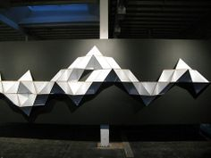 T.SHELF: J1studio's triangular shelf modular - Lost At E Minor: For creative people