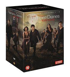 Vampire Diaries – Coffret l'Integrale des Saisons 1 à 6 [Coffret 31 DVD]: vampire diaries integrale vampire diaries vampire diaries dvd…