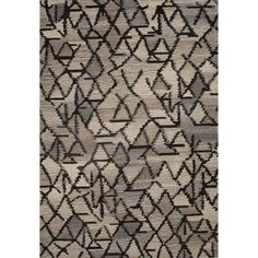 Hand-Tufted Geometric Pattern Grey/Ivory (8' x 10') AreaRug - Overstock™ Shopping - Great Deals on Jaipur 7x9 - 10x14 Rugs