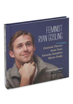 Feminist Ryan Gosling - Multi, Dorm Decor, Quirky, Scholastic/Collegiate, Top Rated