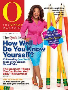 O, The Oprah Magazine Cover, November 2012