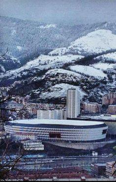 Bilbao bajo un manto de nieve