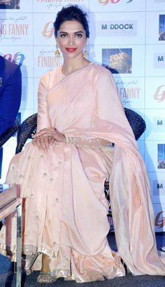 Deepika Padukone in a saree