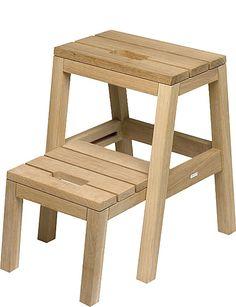 SKAGERAK Dania oak step ladder