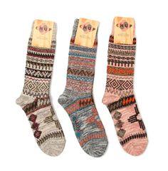wolfendalevintage:  Chup pueblo knit socks
