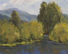 Yampa Valley by Bonnie Bowne Oil ~ 8 x 10