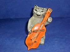 "VINTAGE 1960'S ""HEY DIDDLE DIDDLE THE CAT & THE FIDDLE"" SALT AND PEPPER SHAKERS"