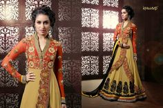 SHRADDHA KAPOOR KHAWAB.  Georgette & Embroidery.. size : 46 / 48 heavy dress for party wear.. To place order kindly  WHATS APP : 8767040092.  Or ...Mail at : shaikha430@gmail.com