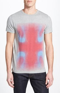 Men's French Connection 'Blurred Union Jack' Graphic T-Shirt