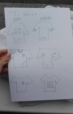 Manuele Schetsen T-Shirt