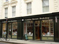 """London Review Bookshop""...and Cakeshop! (Bloomsbury, London, UK)"
