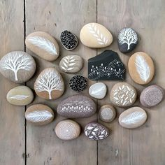 Collections of painted stones, sea glass, beach pottery and slate by artist and illustrator Natasha Newton. Pebble Painting, Pebble Art, Stone Painting, Watercolor Painting, Rock Painting Designs, Sea Glass Art, Glass Beach, Water Glass, Beach Stones