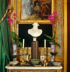 French vignette at Jacques Garcia chateau