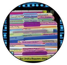 Classroom Organization ~ Read Alouds By Month & Author! #NewTeachers #BacktoSchool