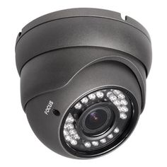 RTech 2MP 1080P HD TVI Outdoor Turret Dome Security Camera with IR Night Vision  2812mm Varifocal Lens  Black ** Details can be found by clicking on the image.Note:It is affiliate link to Amazon.