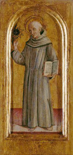 St. Bernardine of Siena- Lorenzo (di Pietro) Vecchietta  Luis Fernando Serna Covarrubias