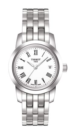 Tissot Classic Dream Women's White Quartz Stainless Steel Watch