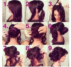 Beautiful Curly Updo @Taylor Snow is this what you want your hair to look like saturday?