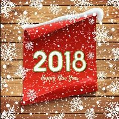 Happy New Year 2018 (GIF animation)