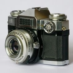 Zeiss-ikon contaflex - this was my first 35mm and still one of the best cameras I've ever owned.