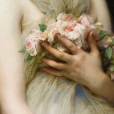 girls with flowers Etienne Adolph Piot French, 1850 - 1910 Angel Aesthetic, Aesthetic Art, Old Paintings, Beautiful Paintings, Aphrodite Aesthetic, Renaissance Kunst, Classical Art, Traditional Art, Art Inspo
