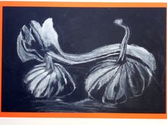 The Calvert Canvas: Adventures in Middle School Art!: Pumpkins & Gourds in Charcoal