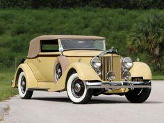 1934 Packard Eight Convertible Victoria