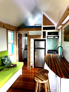 This is a Tiny House Life Space SIP THOW built in Prentiss, MS. We feel we have a lot of cool features in this house that your readers would like. We have taken it to a couple of shows and people a…