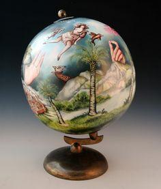 "Kurt Weiser  ""Albion"" 2014, china painted porcelain"