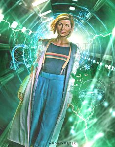 Doctor Who: Fans And Pros Draw The 13th Doctor In Her New Outfit