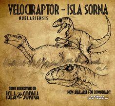 VNublariensis2 Isla Sorna by jesuskent2014.deviantart.com on @DeviantArt