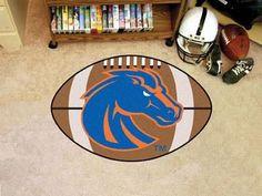 """Boise State Football Rug 20.5""""x32.5"""""""