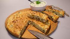 Slana torta s maslinama - recept I Love Food, Good Food, Quiche, Bakery, Brunch, Favorite Recipes, Bread, Cheese, Recipes
