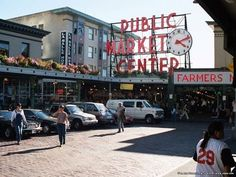 Pike Place Market, Seattle '08 and '11