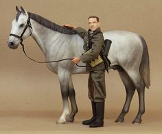 Grey cavalry horse | Flickr - Photo Sharing!