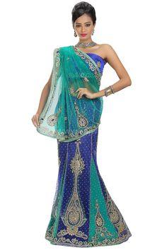 bbe655c5096b1 Net Saree, Lehenga Saree, Indian Dresses, Indian Gowns, Dress India, Indian