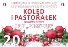 [20.12.2016] Koncert kolęd ZPiT Powiśle – Kwidzyńskie Centrum Kultury