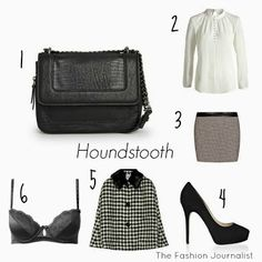 Inspiration: houndstooth. Pata de gallo. Coq, Houndstooth, Outfits, Inspiration, Shopping, Fashion, Outfit, Biblical Inspiration, Moda