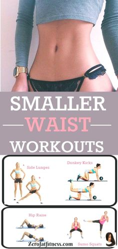 Slim Waist Workout, Small Waist Workout, Tummy Workout, Bigger Hips Workout, Waist Exercise, Beginner Yoga, Yoga For Beginners, Yoga Routine, Workout Routines