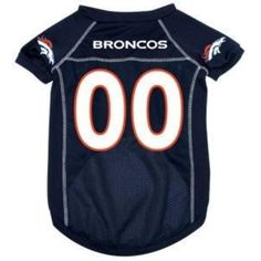 Denver Broncos Deluxe Dog Jersey - Medium - Officially Licensed Denver  Broncos Deluxe Dog Jersey Dress your pet in game day gear and support your  favorite ... f8c2adc07