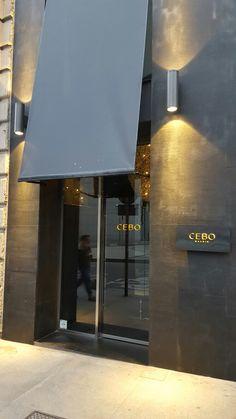 CEBO Madrid. Nuevo restaurante gastronómico con una cocina contemporanea, progresiva y libre. CEBO da la mano gastronómicamente a Barcelona y Madrid ejecutando una cocina mediterránea con toques madrileños.