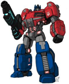 Optimus Prime of Cybertron by *KevinRaganit