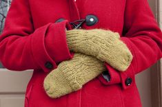 How to Knit Convertible Mittens - free