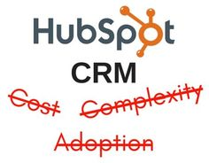 WSOL's Chris Osterhout shares how #HubSpot Breaks Down the Barriers to #CRM Adoption