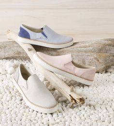 The super-stylish UGG Adley Stripe Slip On is comfortable and trendy. This  slip-on sneaker is a very fashion-forward alternative for day or night.