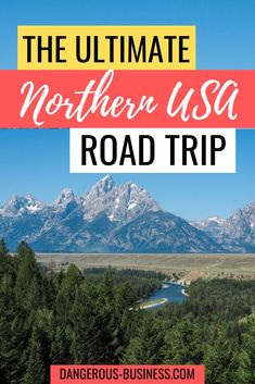 Northern USA Road Trip Itinerary - - The states of Montana, Wyoming, North Dakota, and South Dakota make for a great road trip. Check out this detailed northern USA road trip itinerary! Road Trip Packing, Us Road Trip, Family Road Trips, Road Trip Hacks, Family Vacations, Family Travel, Wyoming, Montana, East Coast Road Trip